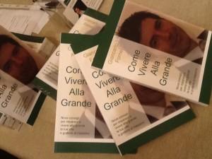 Particolare del nuovo libro di Giancarlo Fornei Come Vivere Alla Grande