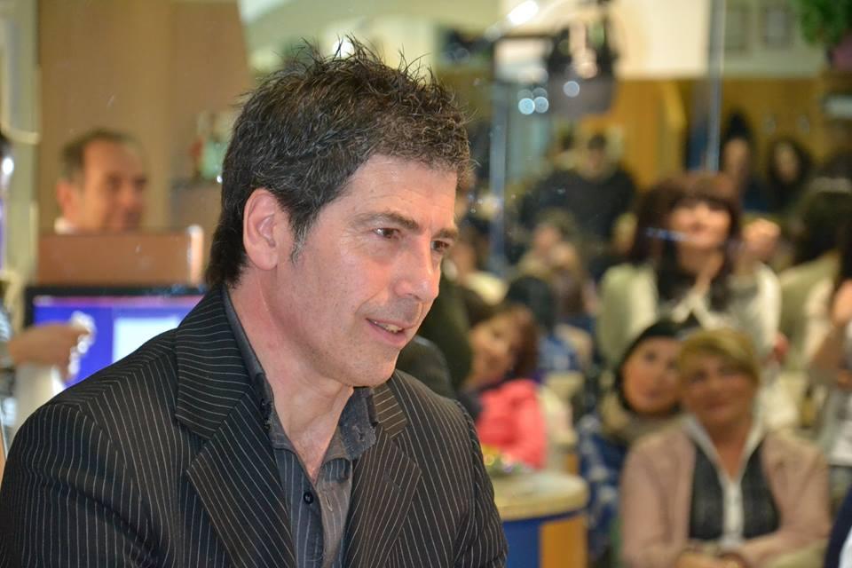 Giancarlo Fornei durante una sua conferenza a Trieste (marzo 2014)