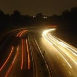 autostrada di notte