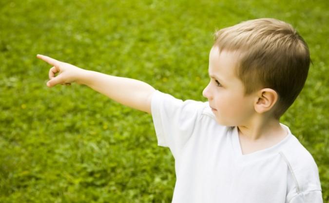 Indicare le cose? Aiuta i bambini ad apprendere meglio...