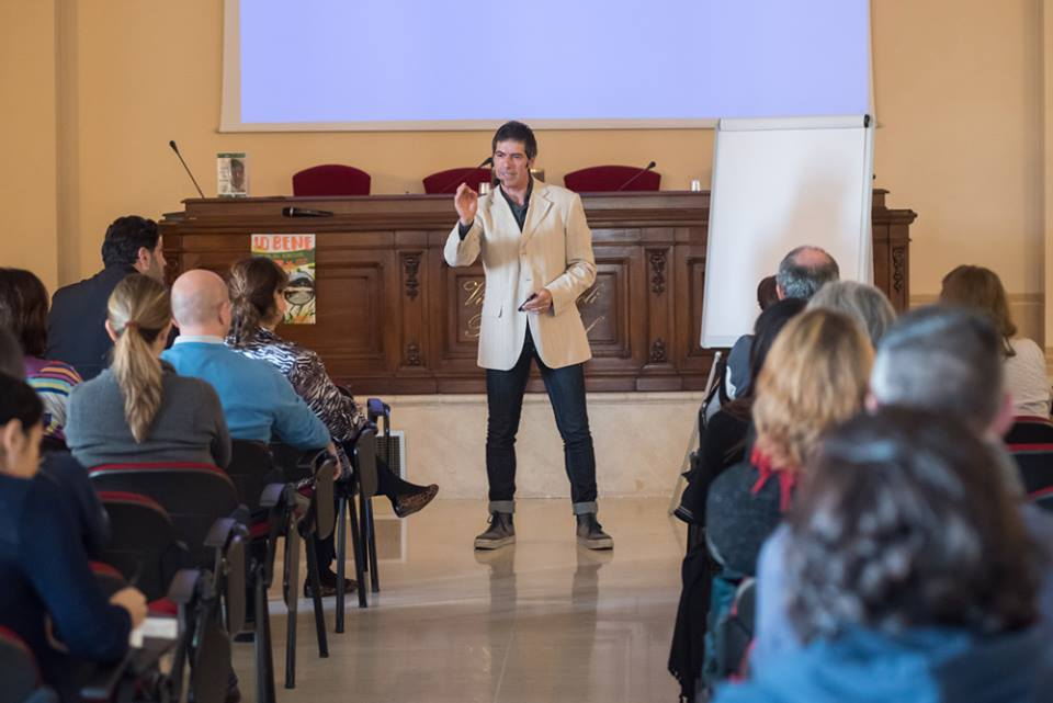 Il coach motivazionale Giancarlo Fornei a Brescia, ospite della quarta edizione di IO BENE Fiera del Benessere - 1 novembre 2015...