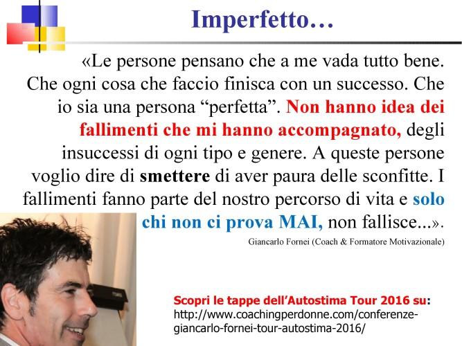 #AUTOSTIMA - Lei non sa chi sono io... mi chiamano Imperfetto!