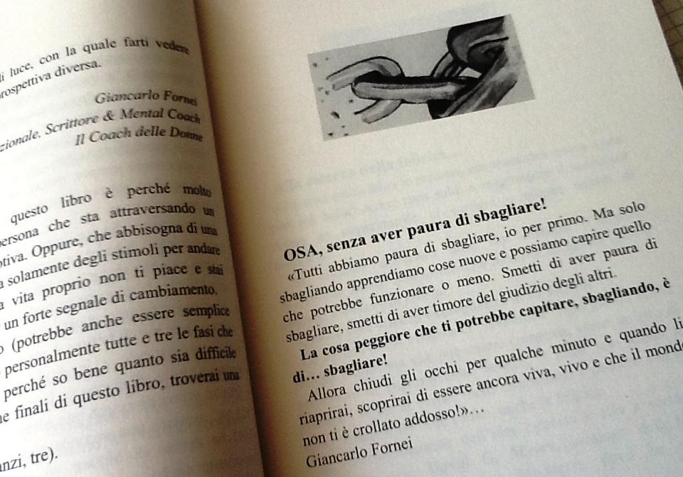 OSA, senza aver paura di sbagliare (tratto dal libro Rompi i Tuoi Schemi Mentali del coach motivazionale Giancarlo Fornei
