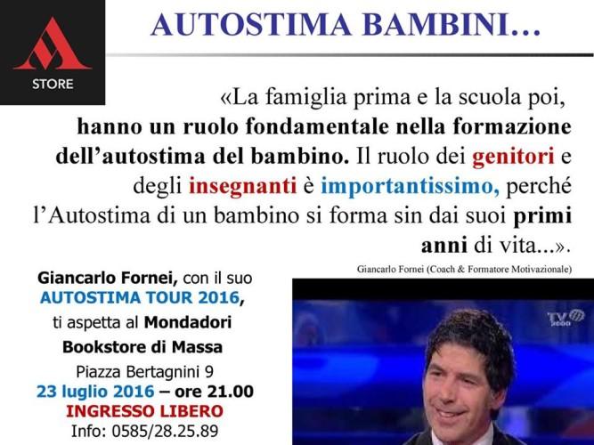 #AUTOSTIMA Bambini: una frase del coach motivazionale Giancarlo Fornei!