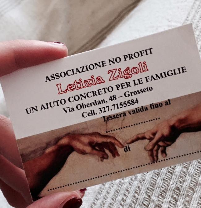 Biglietto Associazione Zigoli Letizia (2)