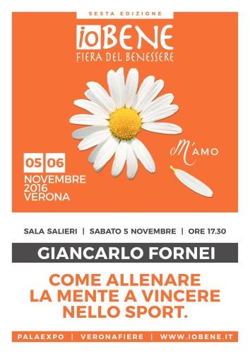 #ALLENAMENTO MENTALE nello SPORT - Verona - 5 novembre 2016 - seminario di allenamento mentale nello sport con il coach motivazionale Giancarlo Fornei!