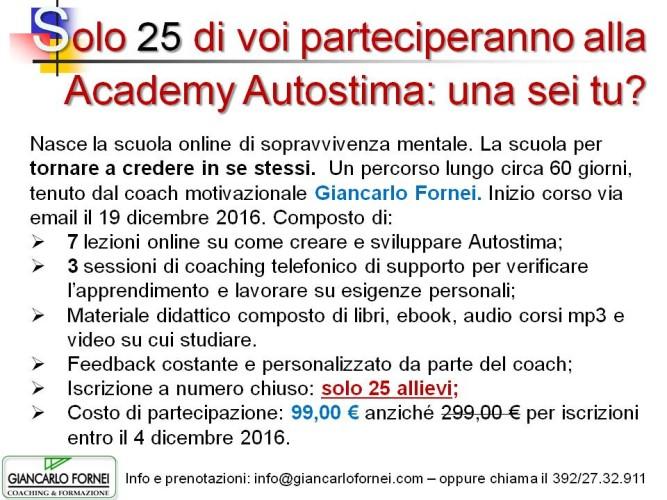 Solo 15 di voi parteciperanno alla Academy Autostima: una sei tu?