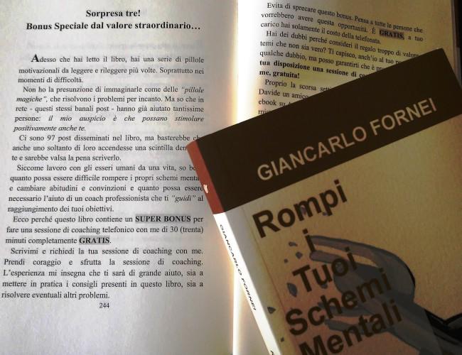 Sessioni di coaching gratuite nei libri di Giancarlo Fornei?