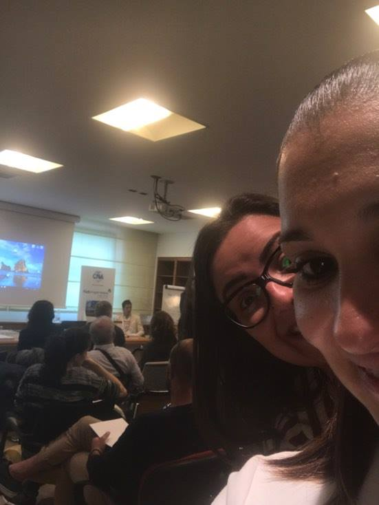 #AUTOSTIMA TOUR 2017 - San Benedetto del Tronto - nella sede della CNA Picena è tutto pronto per partire con il seminario motivazionale di Giancarlo Fornei (che si intravvede in fondo alla sala)...