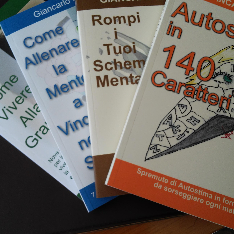 Gli ultimi 4 libri scritti dal coach motivazionale Giancarlo Fornei