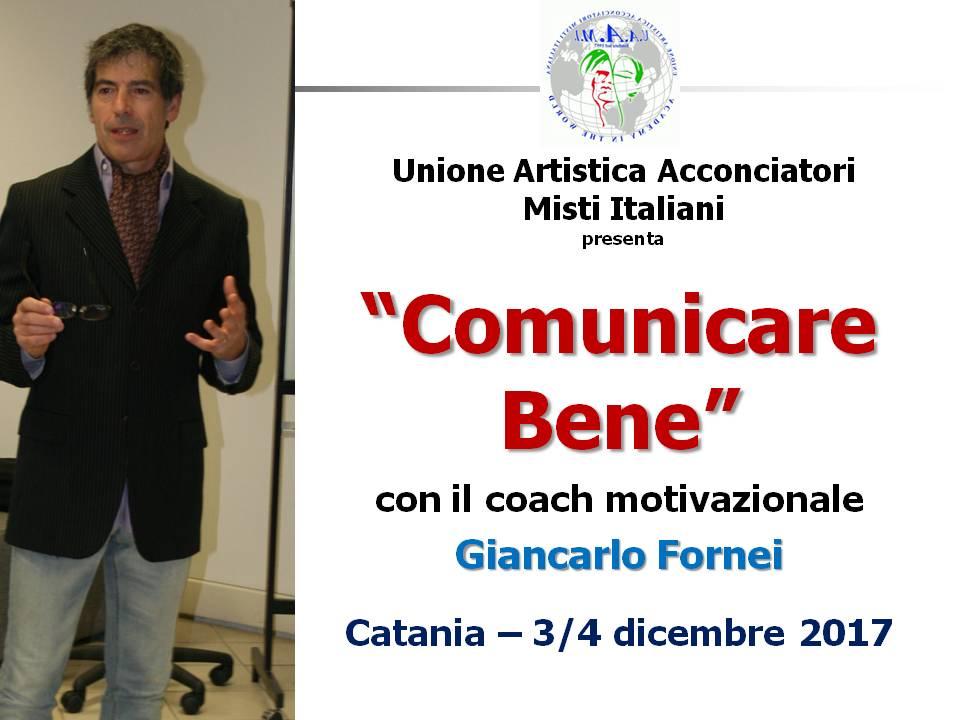 Comunicare Bene - UAAMI - Catania - 3 e 4 dicembre 2017 (cartolina)