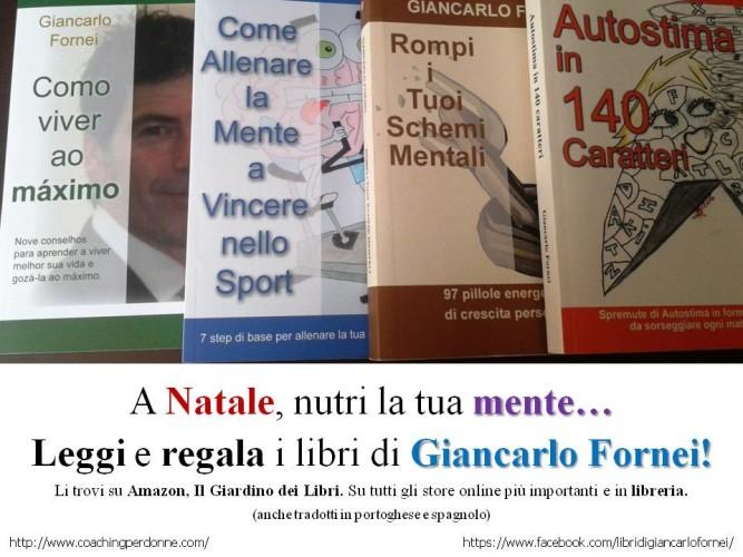 """A Natale, leggi e regala i libri del """"coach delle donne"""" Giancarlo Fornei!"""