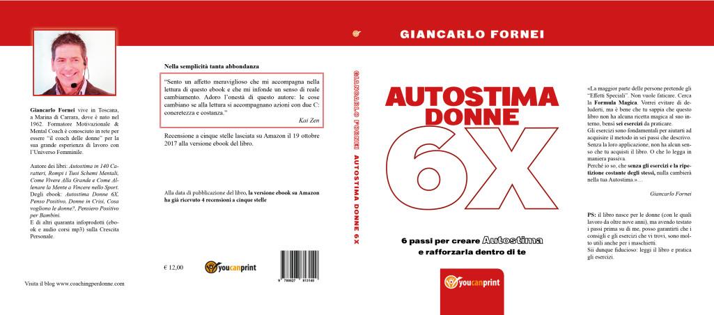 Autostima Donne 6X, arriva la versione formato libro!