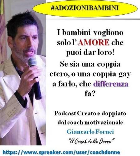 Speciale Podcast Adozioni: i bambini vogliono solo AMORE. Che sia di una coppia gay o etero, che differenza fa?