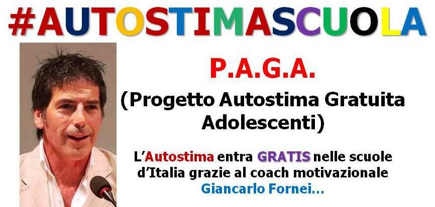 AUTOSTIMA SCUOLA P.A.G.A. (Progetto Autostima Gratuita Adolescenti)!