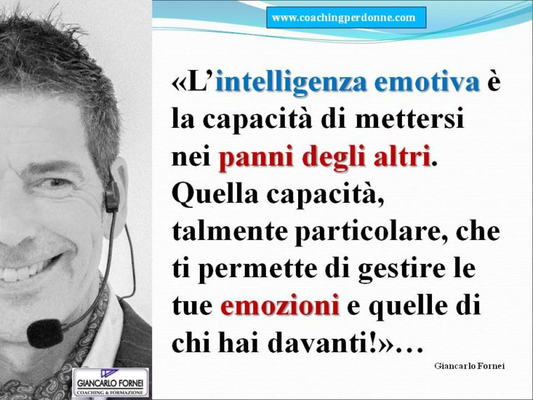 Che cos'è l'intelligenza emotiva?