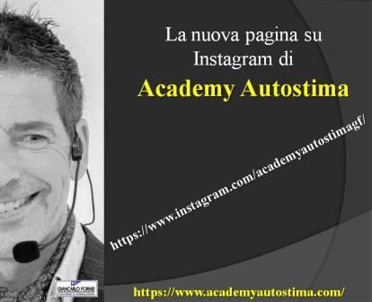 Academy Autostima Instagram! (nasce la nuova pagina)…